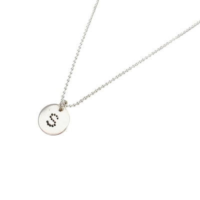 Letter ketting Dots