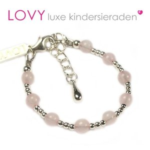 Pure baby armband rose
